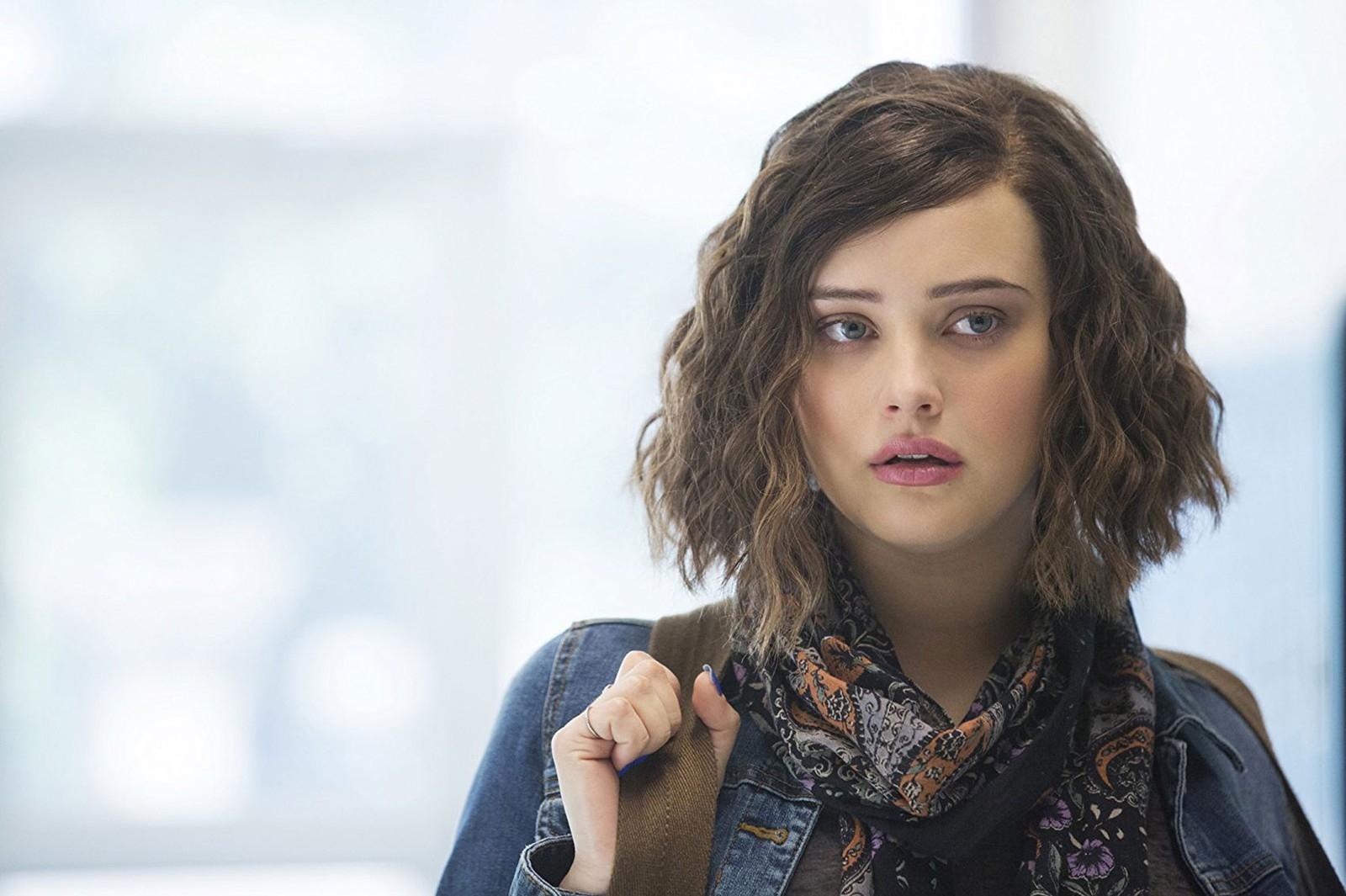 Katherine Langford como Hannah Baker na série '13 Reasons Why'.