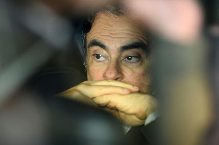Carlos Ghosn foi preso no Japão por suspeita de fraude financeira em março de 2019.