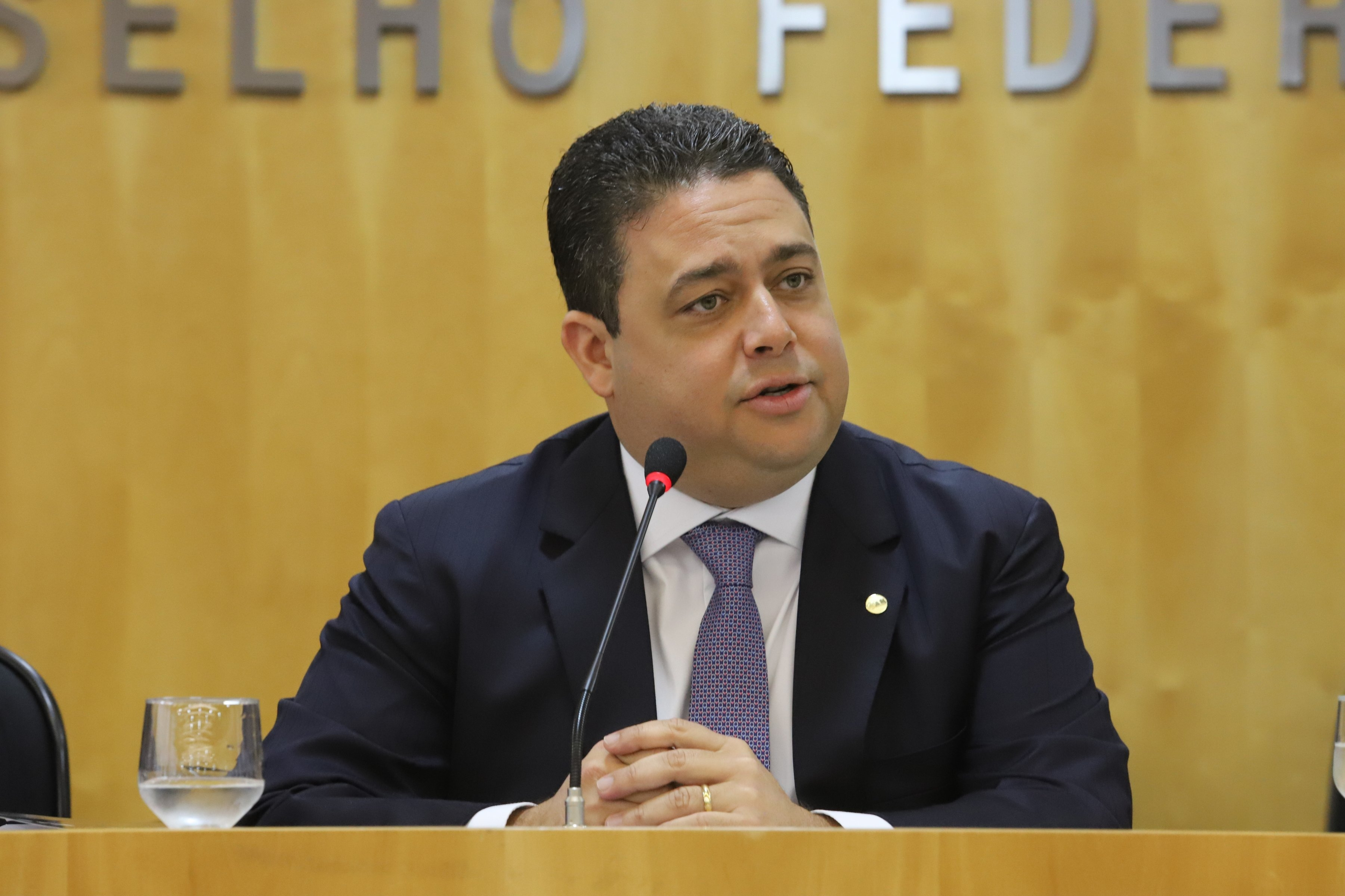 Presidente nacional da OAB, Felipe Santa Cruz