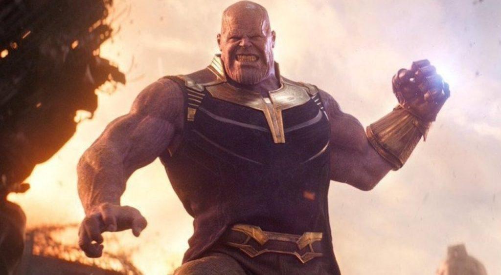 Thanos, vilão da franquia Vingadores.