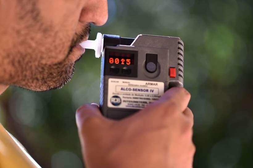 Durante a amostragem, 69% dos motoristas disseram nunca dirigir após consumir bebida alcoólica - os outros 31% admitiram a mistura de direção e álcool.