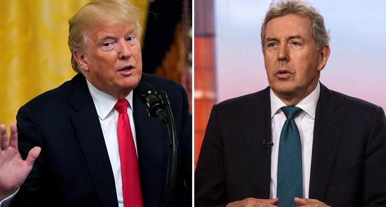 """Neste caso em concreto, Sir Kim afirma, entre outras coisas, que Donald Trump """"irradia insegurança"""" e nunca se mostrará competente. (AFP)"""