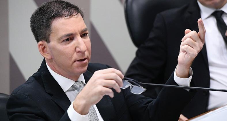 O jornalista norte-americano Glenn Greenwald, um dos mais sérios e destacados profissionais em seu campo de atuação.