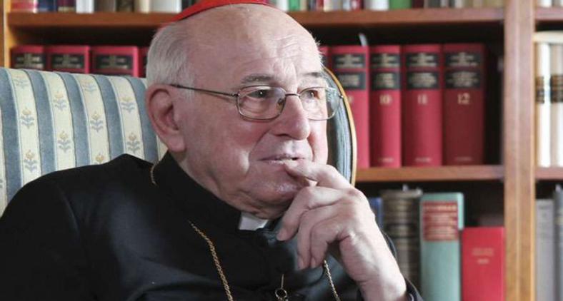 Cardeal Walter Brandmüller.