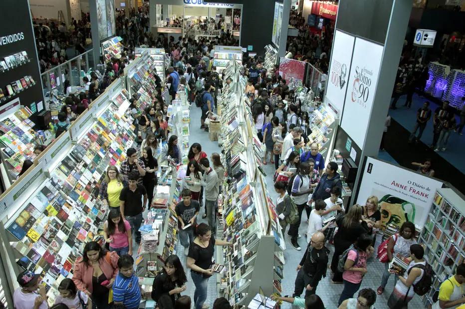 Público esperado de mais de 600 mil pessoas terá a oportunidade de estar com mais de 300 autores.