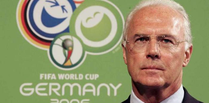 Franz Beckenbauer, ídolo alemão e ex-presidente do Comitê Organizador da Copa também é investigado pela denúncia.