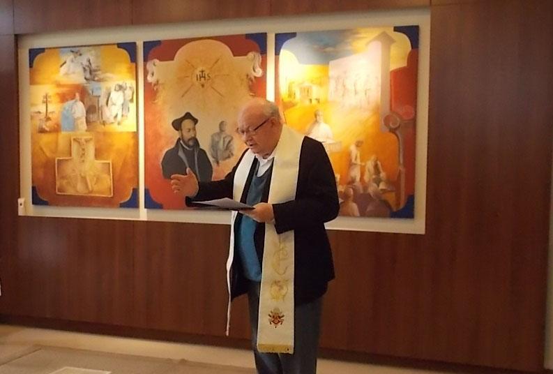 O antigo provincial dos jesuítas, João Roque Rohr, SJ, deu apoio decisivo para o êxito da Fundação Movimento Direito e Cidadania.