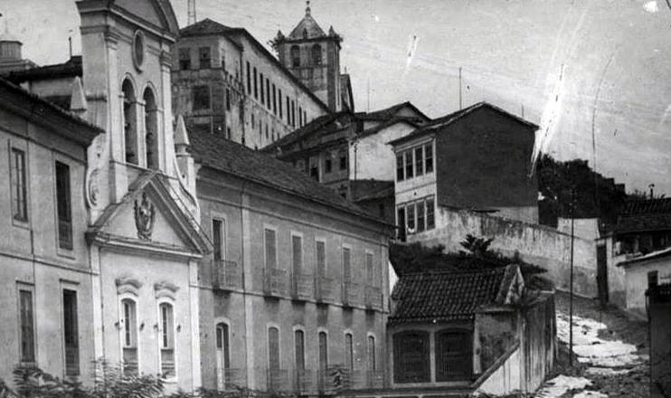 A Rua da Misericórdia, citada na obra, foi uma das primeiras do Rio de Janeiro