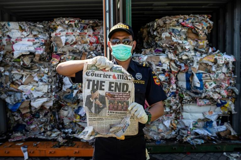 No mês passado a Indonésia disse que devolveria 210 toneladas de lixo para a Austrália.