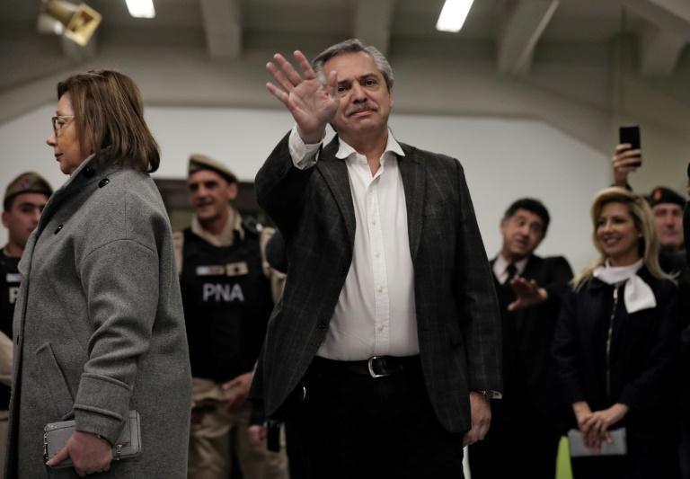 Alberto Fernández recebeu 47% dos votos nas eleições primárias de 11 de agosto de 2019 na Argentina