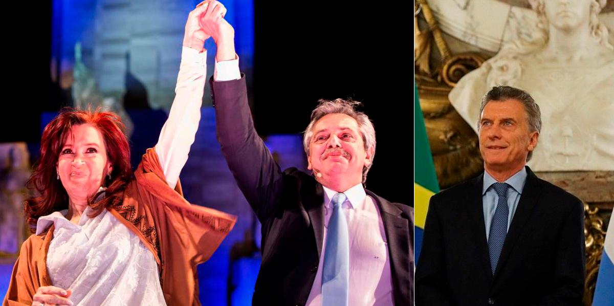 Macri reconheceu a derrota e disse que