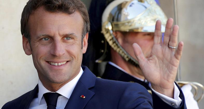 O presidente francês Emmanuel Macron. (Reuters)