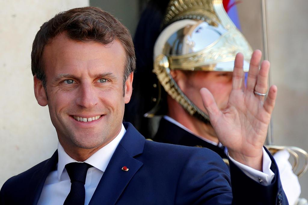 O presidente francês Emmanuel Macron.