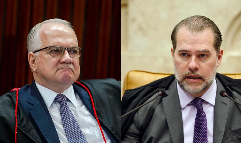 Pacto democrático previsto na Constituição é interpretado de forma distante pelos dois ministros.