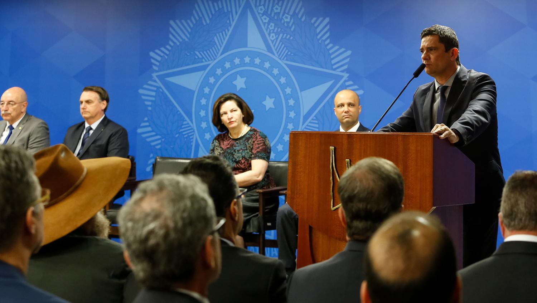 Moro já não unanimidade dentro do governo Bolsonaro