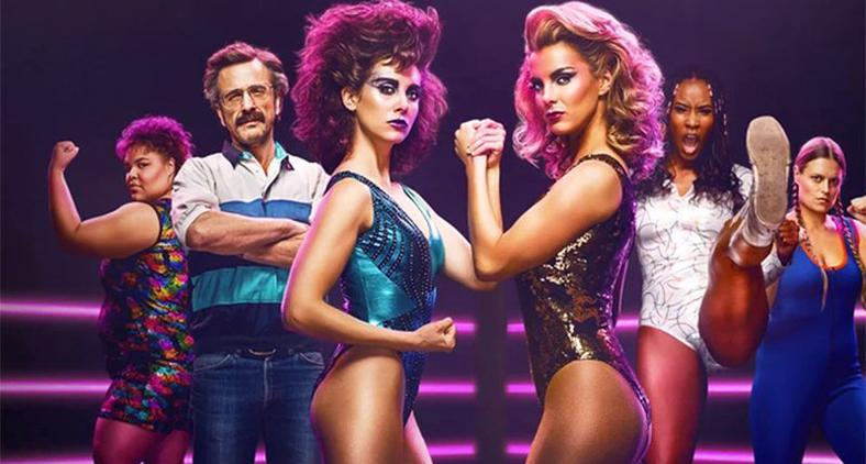 Com a terceira temporada recém estreada, GLOW segue divertindo sem exageros ao comentar a situação da mulher. (Divulgação/Netflix)