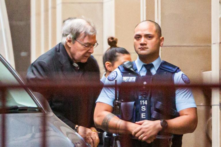 George Pell chega à Suprema Corte do estado de Victoria Melbourne, Austráia, em  6 de junho de 2019