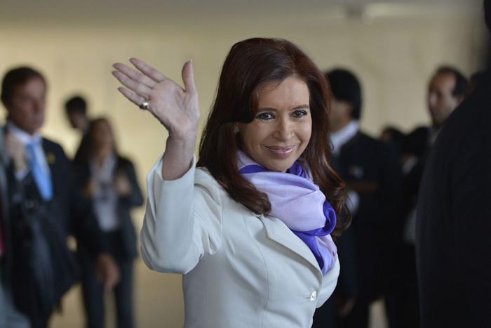 Cristina Kirchner é companheira de chapa de Fernández.