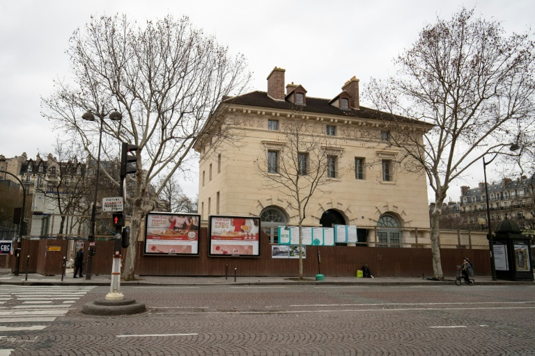 (Arquivo) Local de construção do  futuro Museu da Libertação, em Paris, que será inaugurado em 25 de agosto de 2019 para o 75º aniversário da Libertação de Paris durante a Segunda Guerra Mundial