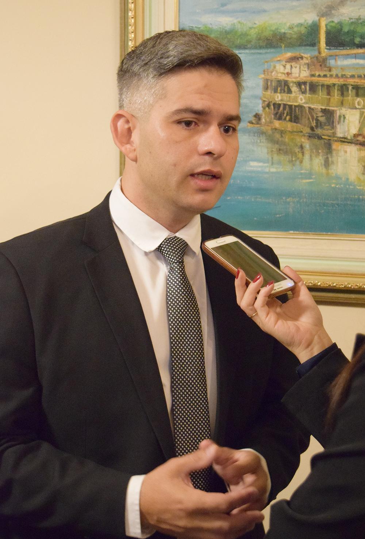 Germano Luiz Gomes Vieira, secretário de Estado de Meio Ambiente e Desenvolvimento Sustentável.