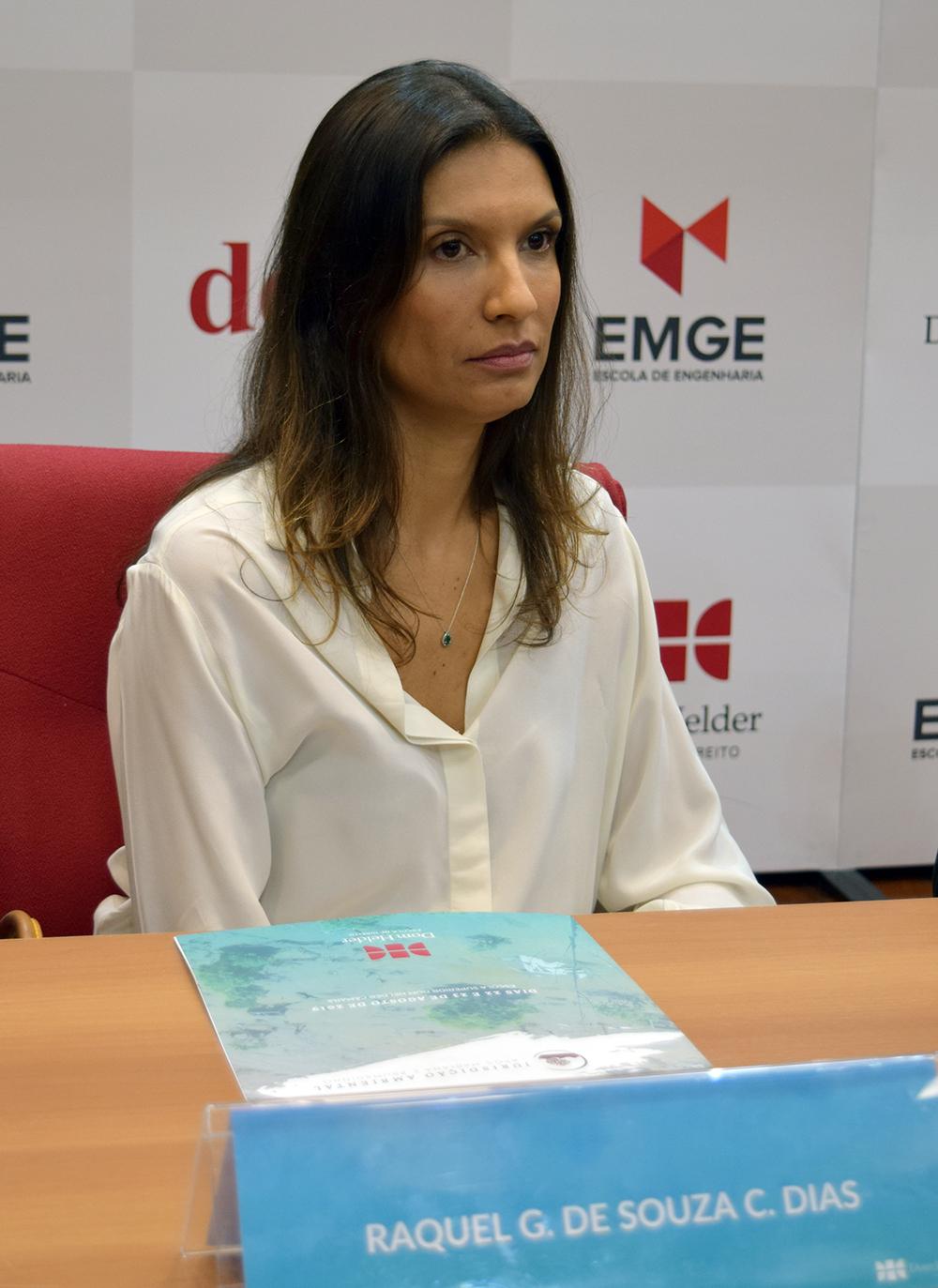 Raquel Costa Dias, chefe de Gabinete da Defensoria Pública.