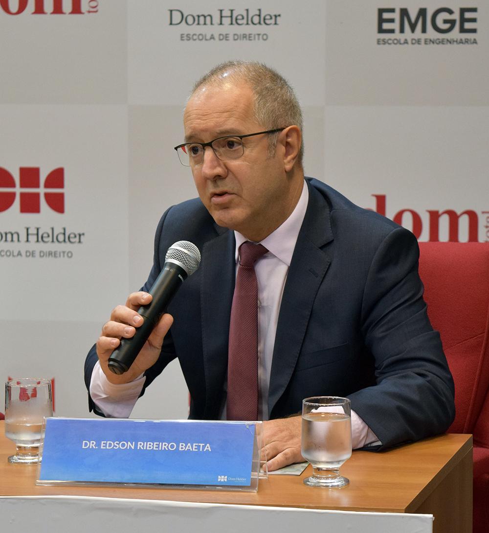 Edson Ribeiro Baeta, promotor de Justiça.