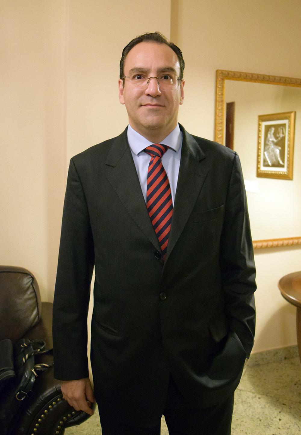 Elton Pupo Nogueira, juiz da 6ª Vara da Fazenda Estadual de Belo Horizonte.