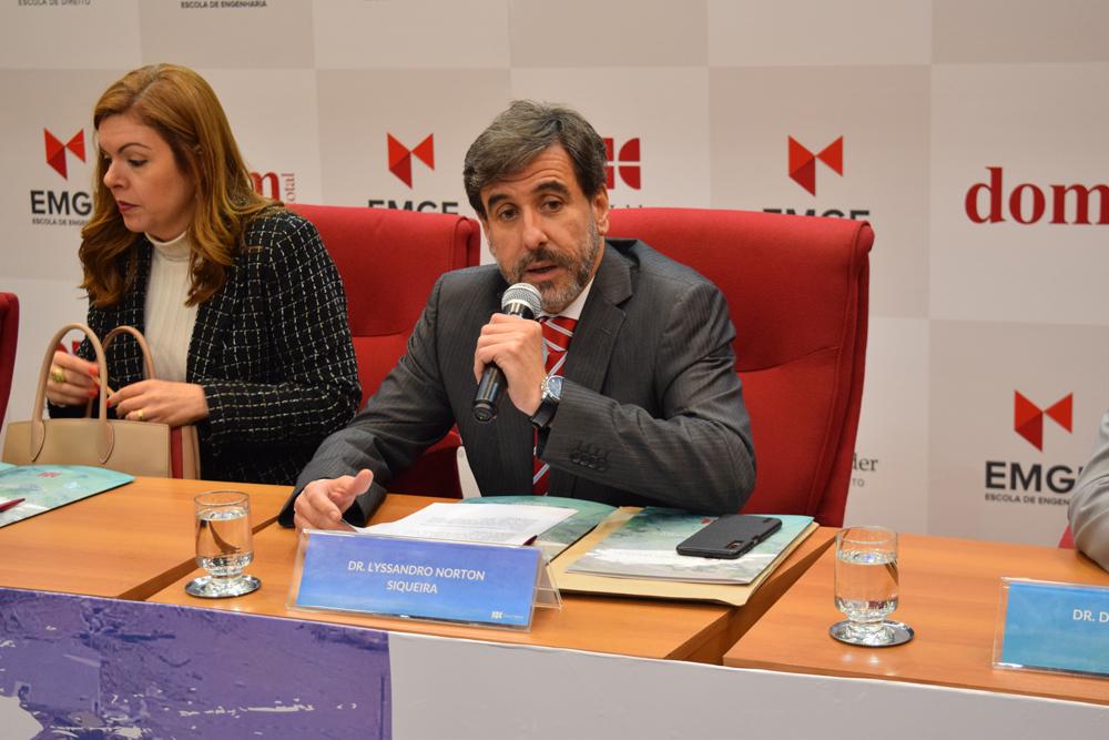 Professor Lyssandro Norton comandou a mesa na segunda etapa de eventos do dia
