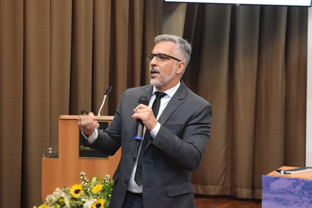 O advogado Alexandre Machado falou sobre 'A jurisdição ambiental internacional: Exemplos bem sucedidos'.