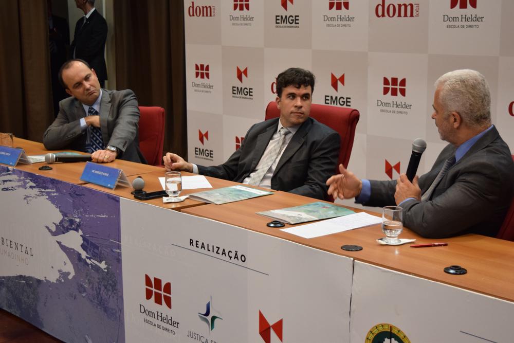 O juiz José Carlos Machado compôs mesa no último painel