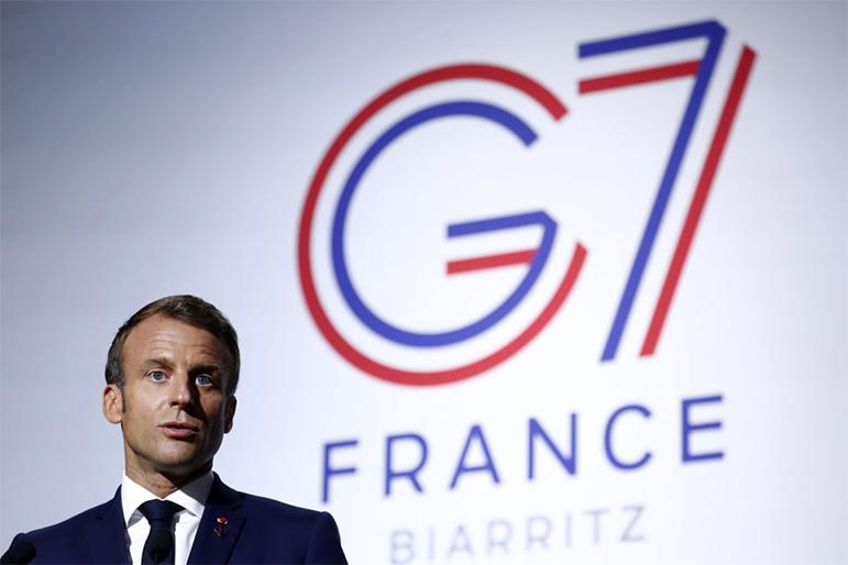 Macron classificou o comentário de Bolsonaro sobre a primeira-dama francesa de 'triste'.