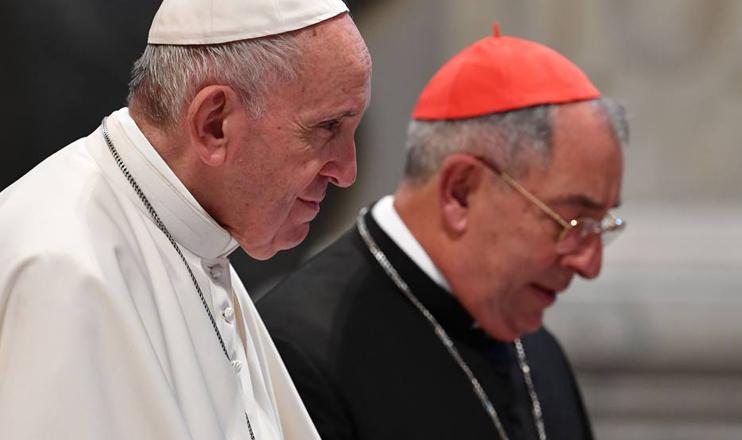 Papa Francisco e Angelo De Donatis.