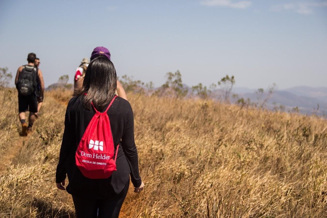 Estudantes percorreram trilha no Parque Estadual da Serra do Rola Moça.
