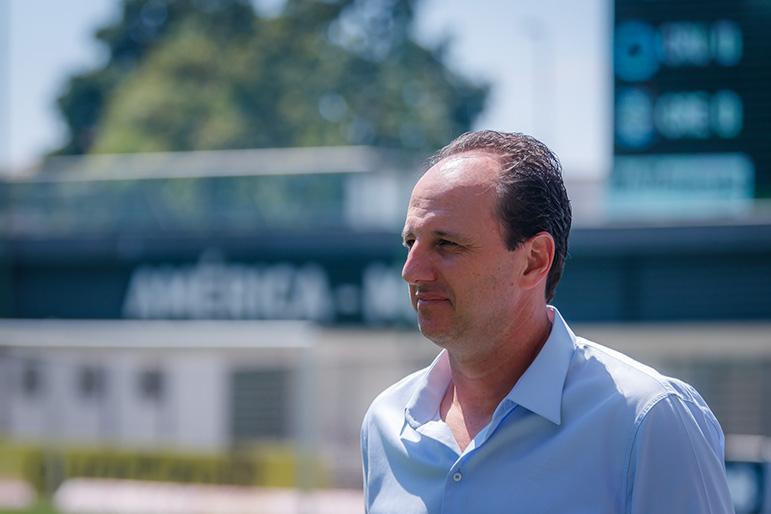 Rogério Ceni diz estar envergonhado pelo momento vivido no Cruzeiro.