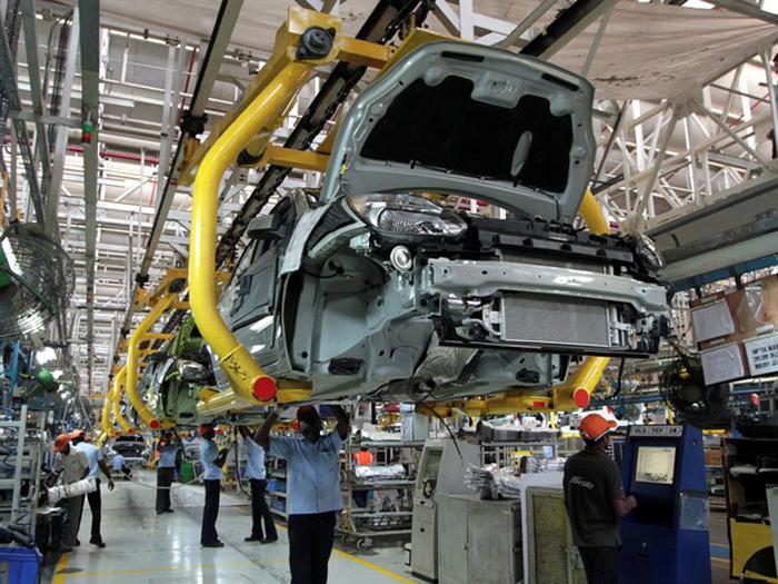 A projeção é de retração de 0,29% da produção industrial em 2019.