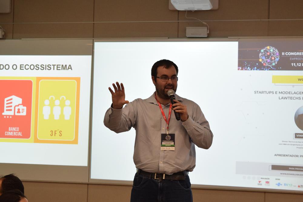 Vinícius Roman falou sobre 'startups e modelagem de negócios inovadores: Lawtechts e Construtechs.