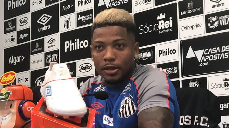 Atacante Marinho é uma das armas do Peixe para surpreender o Flamengo no Rio de Janeiro