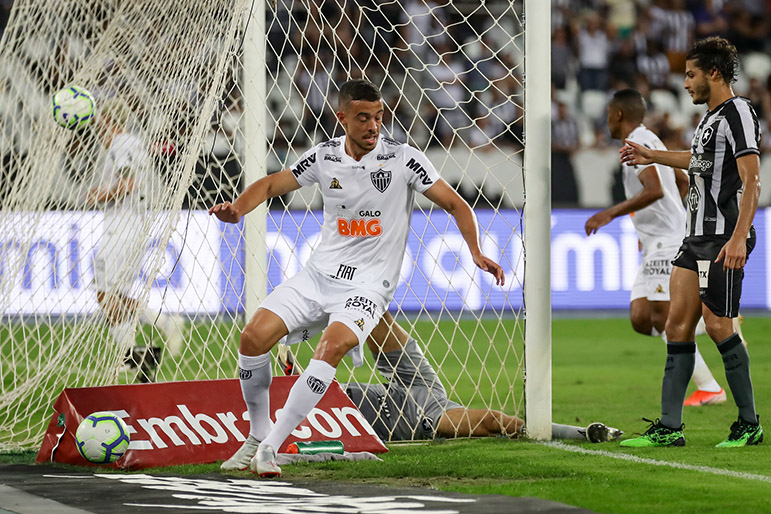 O argentino Di Santo deve ser o novo titular no ataque atleticano.