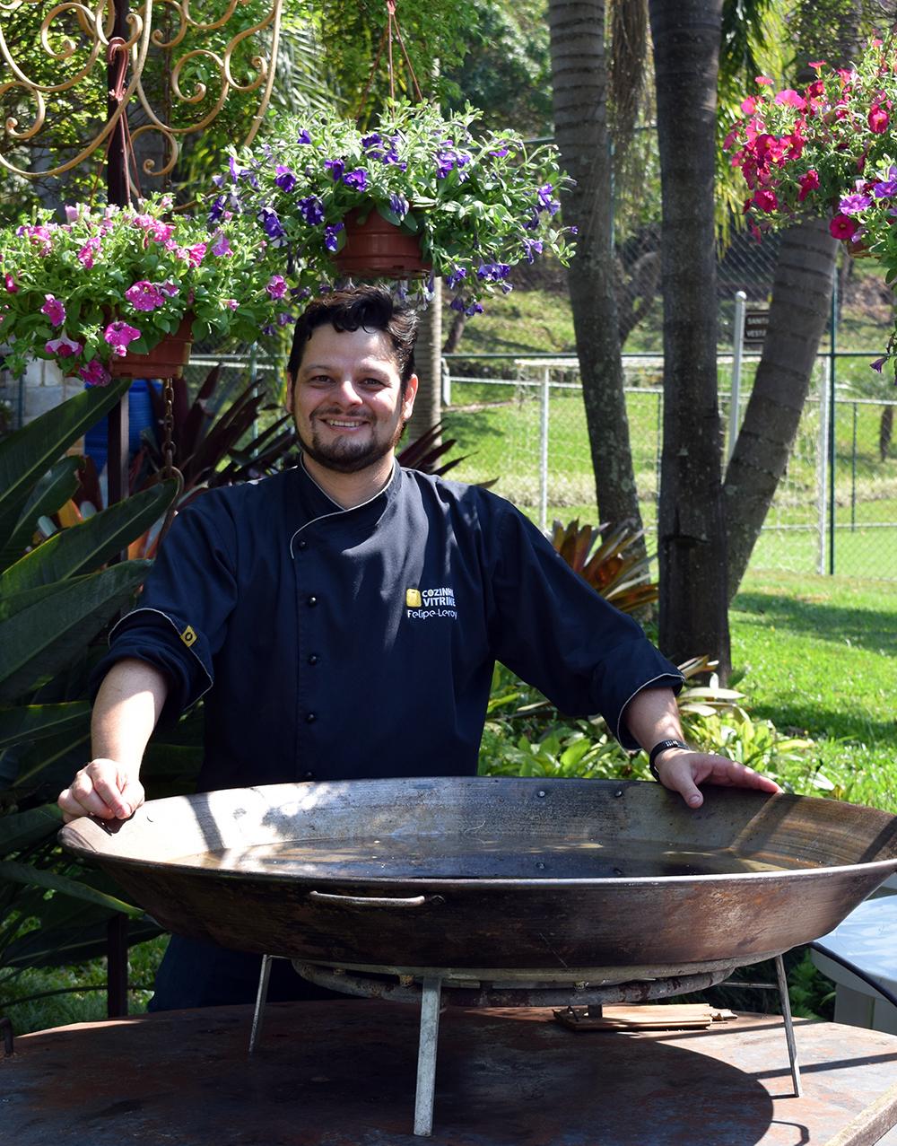 Felipe Leroy, idealizador dos projetos Cozinha Vitrine e Cozinha Educativa.