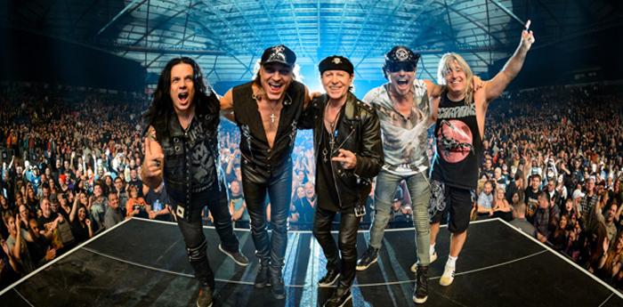 A banda Scorpions fará show no mesmo palco de Whitesnake, em São Paulo.