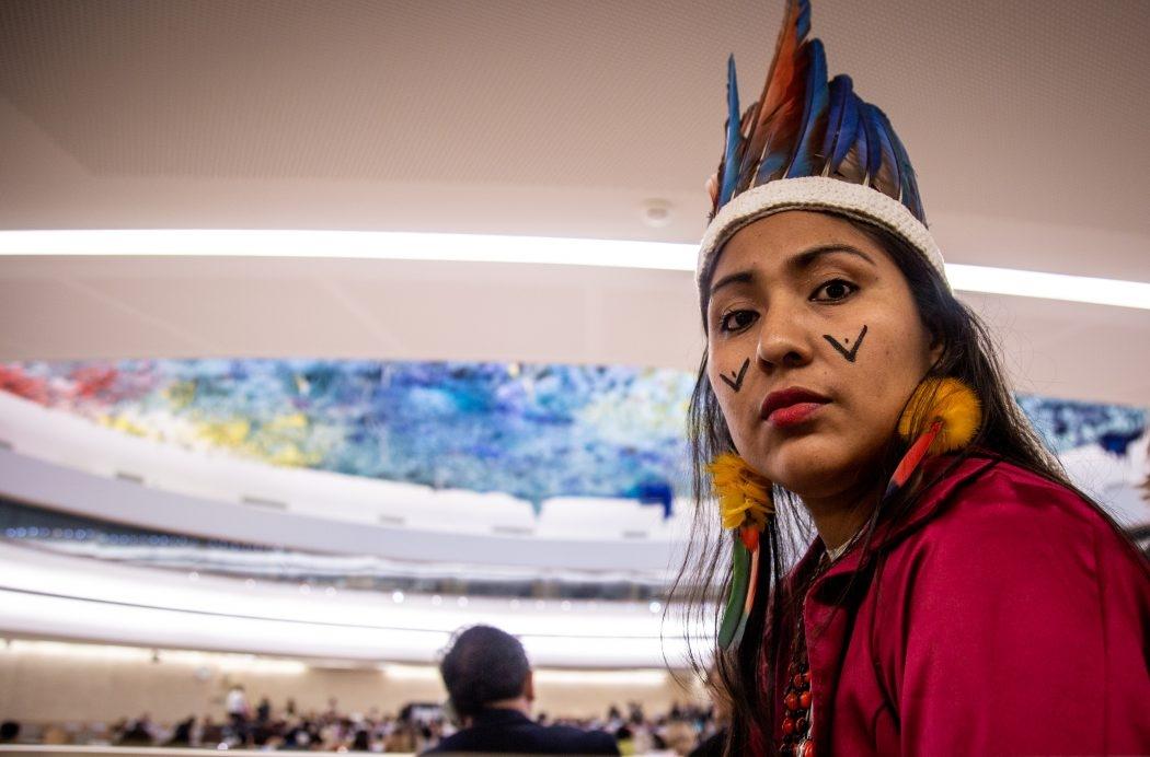 """""""É o tempo mais difícil para o acesso a nossos direitos e nossas terras"""", afirma indígena na ONU"""