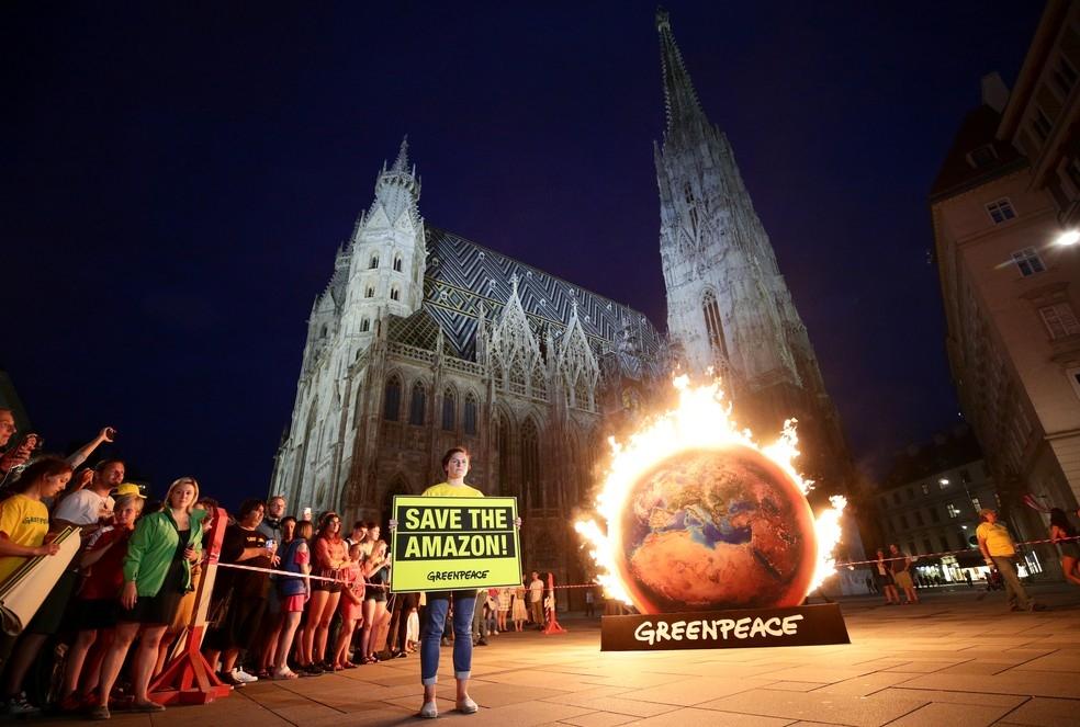 'Um acordo sem proteção confiável do clima e do meio ambiente não tem chances'
