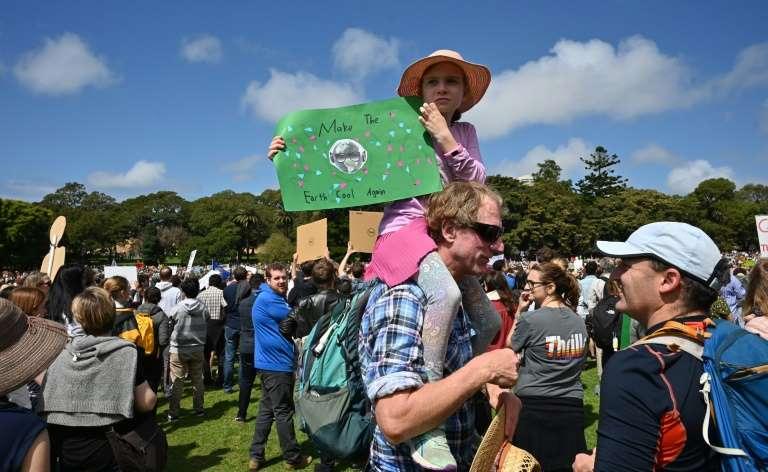 rianças e jovens na Austrália iniciam greve global por uma ação mais efetiva contra o aquecimento do planeta.