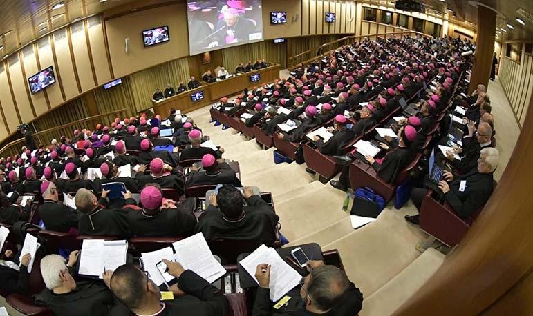 """O próximo Sínodo dos Bispos sobre a Amazônia tem como tema """"Novos caminhos para a Igreja e para uma ecologia integral""""."""