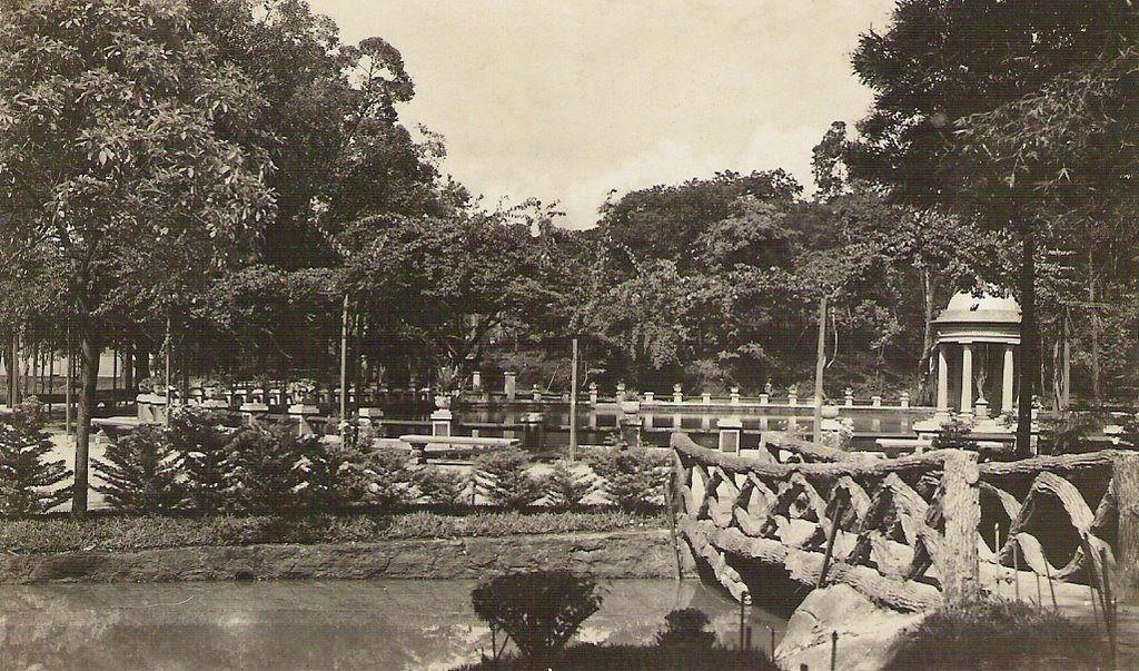 Parque Municipal em 1920