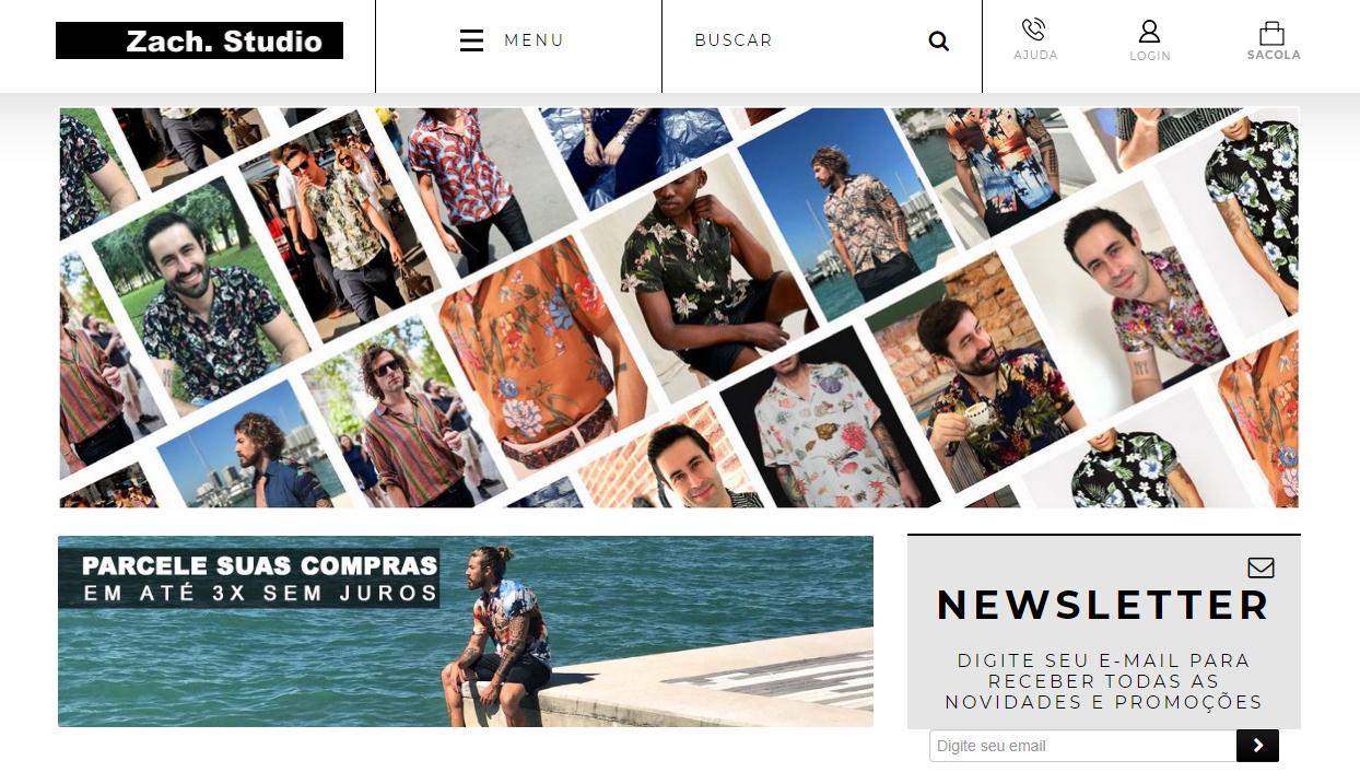 """Após ser demitida, Haryela Zacharias, decidiu criar uma loja de camisas - sem gênero - na internet: a Zach Studio. """"Hoje, além da página, vendo os produtos no Instagram e pelo WhatsApp."""""""