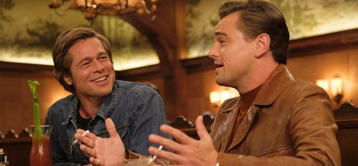 Leonardo DiCaprio e Brad Pitt protagonizam a trama.