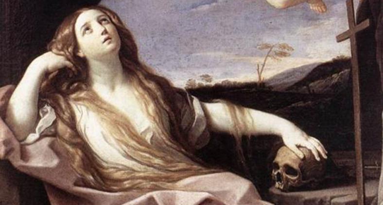 Maria Madalena, de Guido Reni (1630). (Roma - Palazzo Barberini)