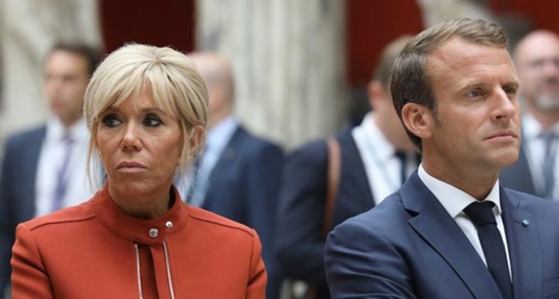 As críticas do presidente francês não foram respondidas na mesma proporção que foram realizadas. Fugiu-se da temática ambiental para a do gênero. (Ludovic Marin/ AFP)