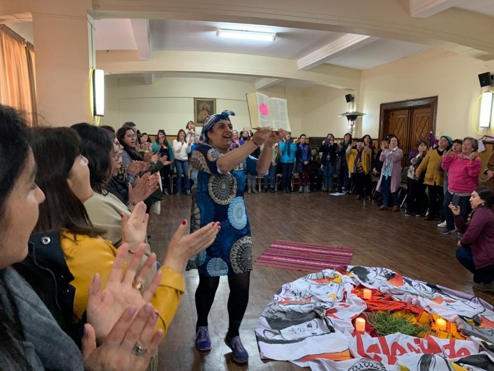 "3º Encontro de ""Mujeres Iglesia Chile"" aconteceu em Concepción, Chile."